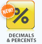 Decimals & Percents